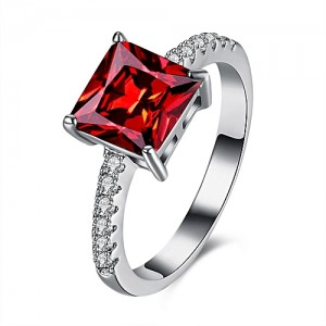 Fashion Hot Rings For Women Girls Austrian Crystal Fashion