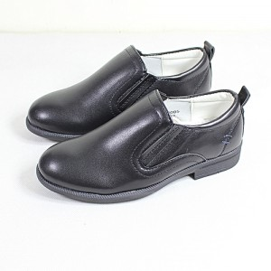 Fashion Easy Wear Kids School Shoes-Black