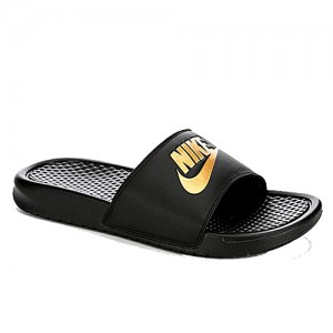 Nike Men's Benassi JDI - Black/Gold