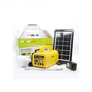 Solar Kit With Power Bank + Multimedia, Radio And Bulbs