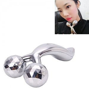 Generic 3D Handheld Body Slimming Massager(Silver)