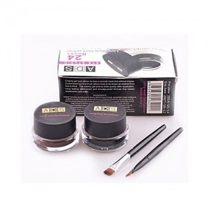 Gel Eyeliner And Eyebrow Filler - Black And Brown
