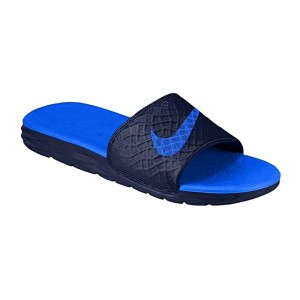 Nike Benassi Solarsoft 2 Slide - Blue / Royal