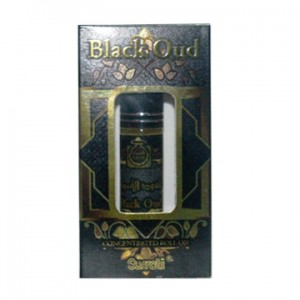 Surrati Black Oud 6ml Concentrated Oil Perfume